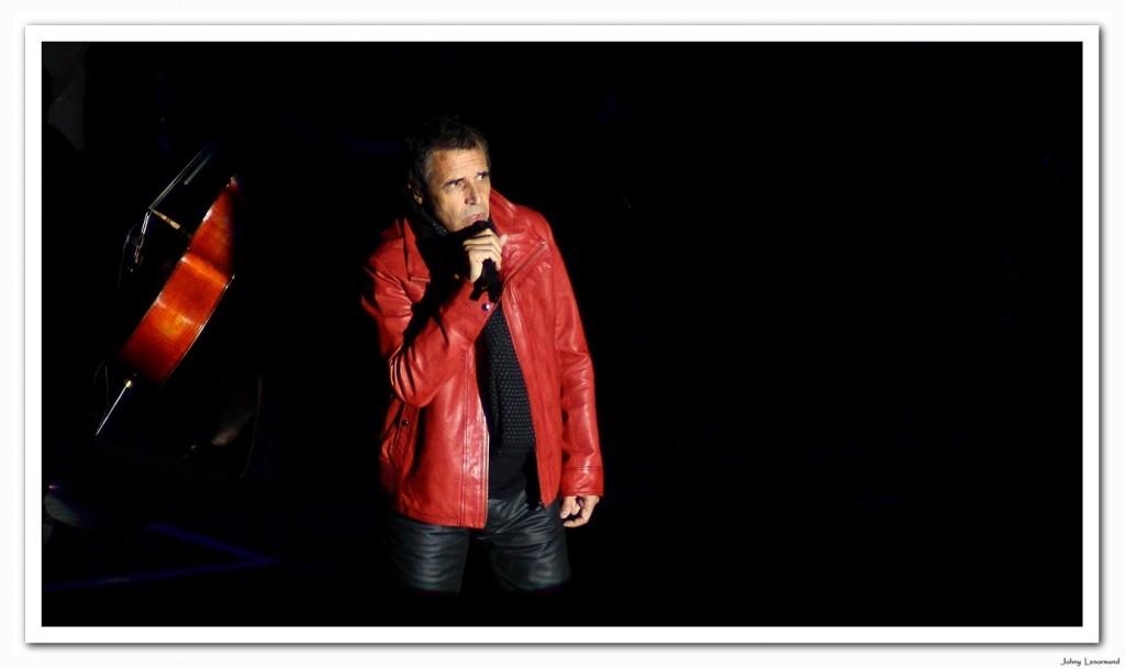 Julien Clerc au festival de Poupet