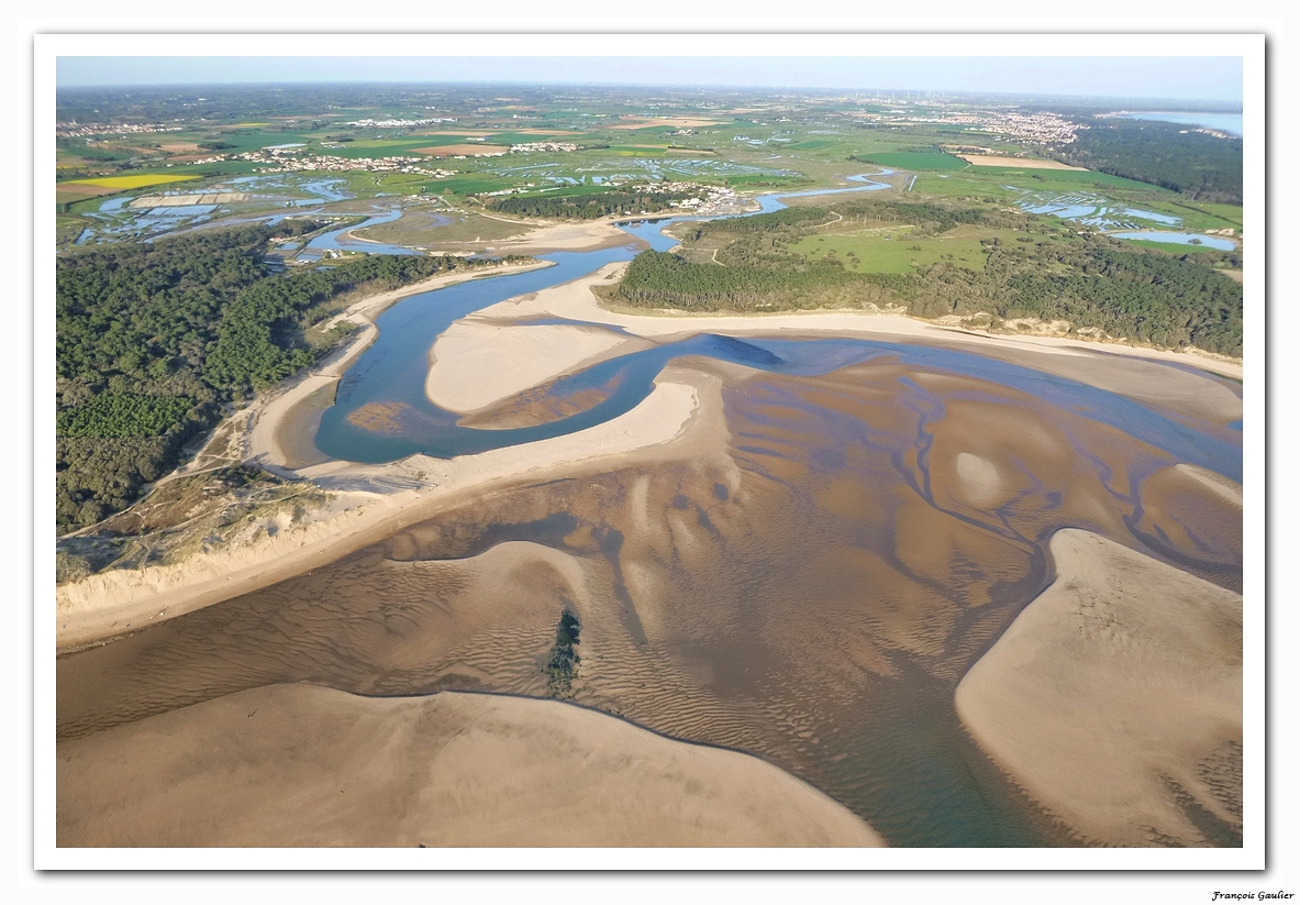 Le Veillon et l'estuaire du Payré