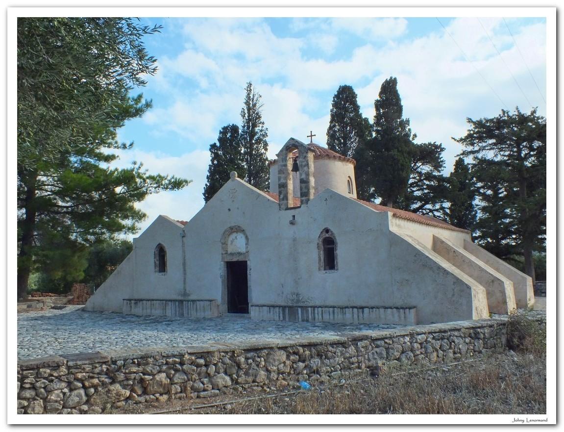 Eglise bizantine de Panagia Kera