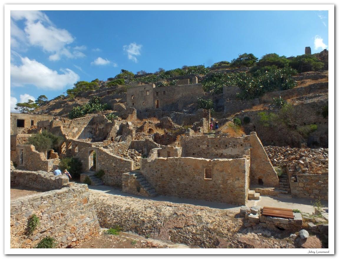 Ile de Spinalonga en Crète