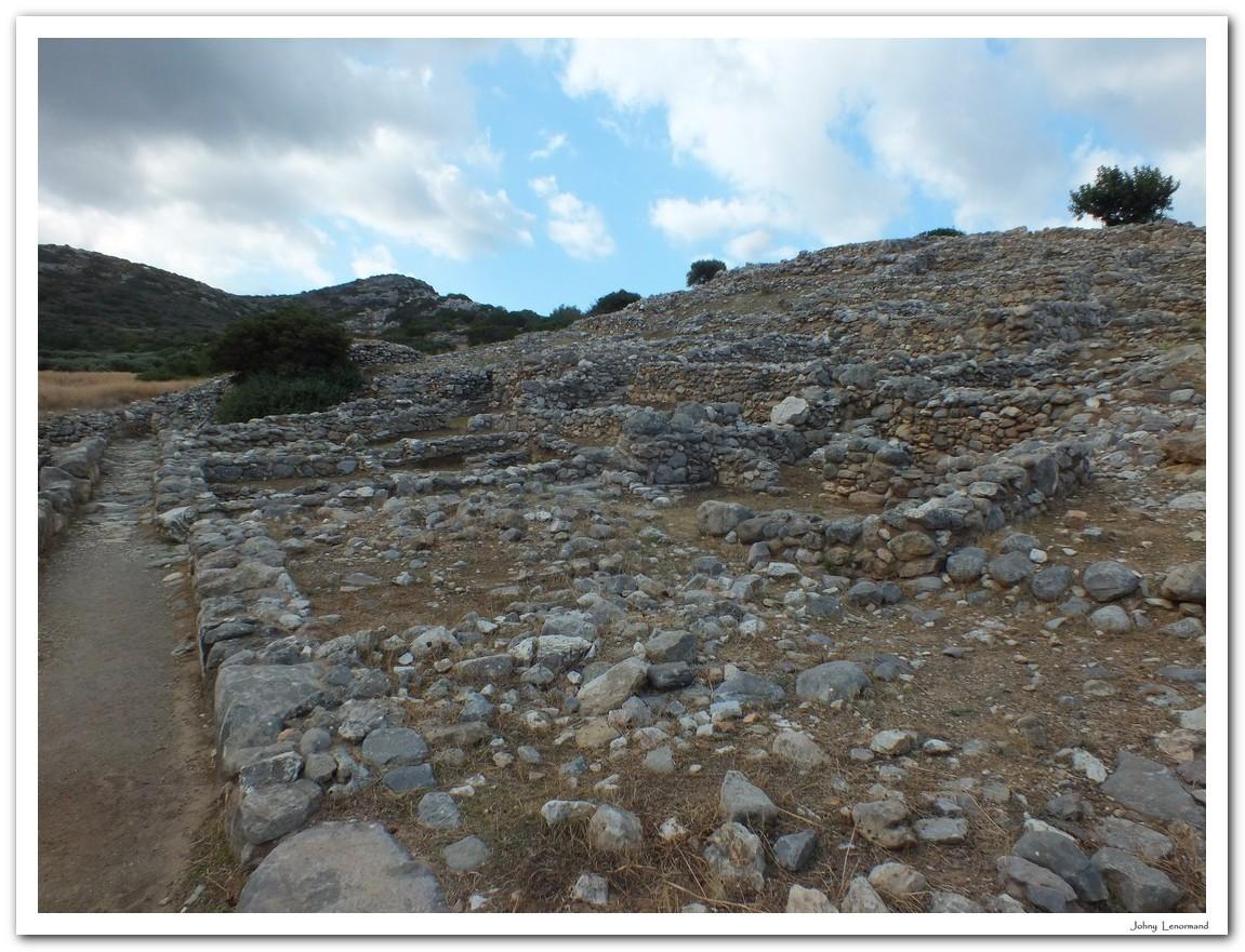 Cité de Gournia en Crète