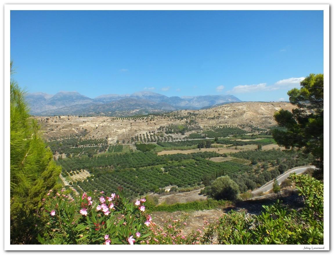 Paysage de Crète
