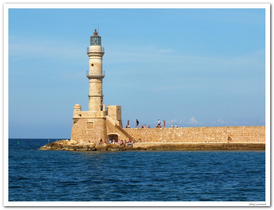 Port de Chania en Crète