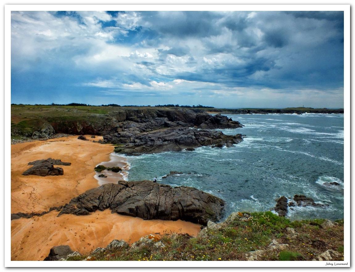 Anse de Ker Daniau, ile d'Yeu, Vendée