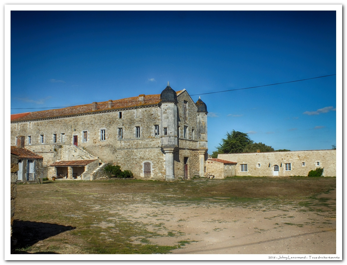 Abbaye de Lieu Dieu à Jard Sur Mer (Vendée)