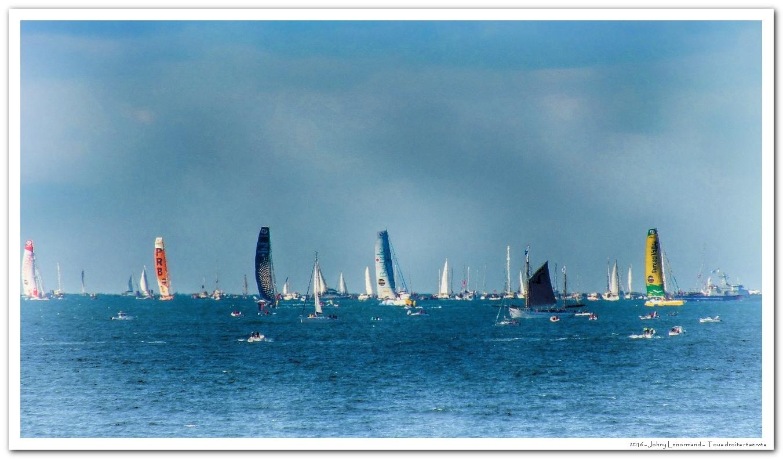 Départ Vendée Globe 2016