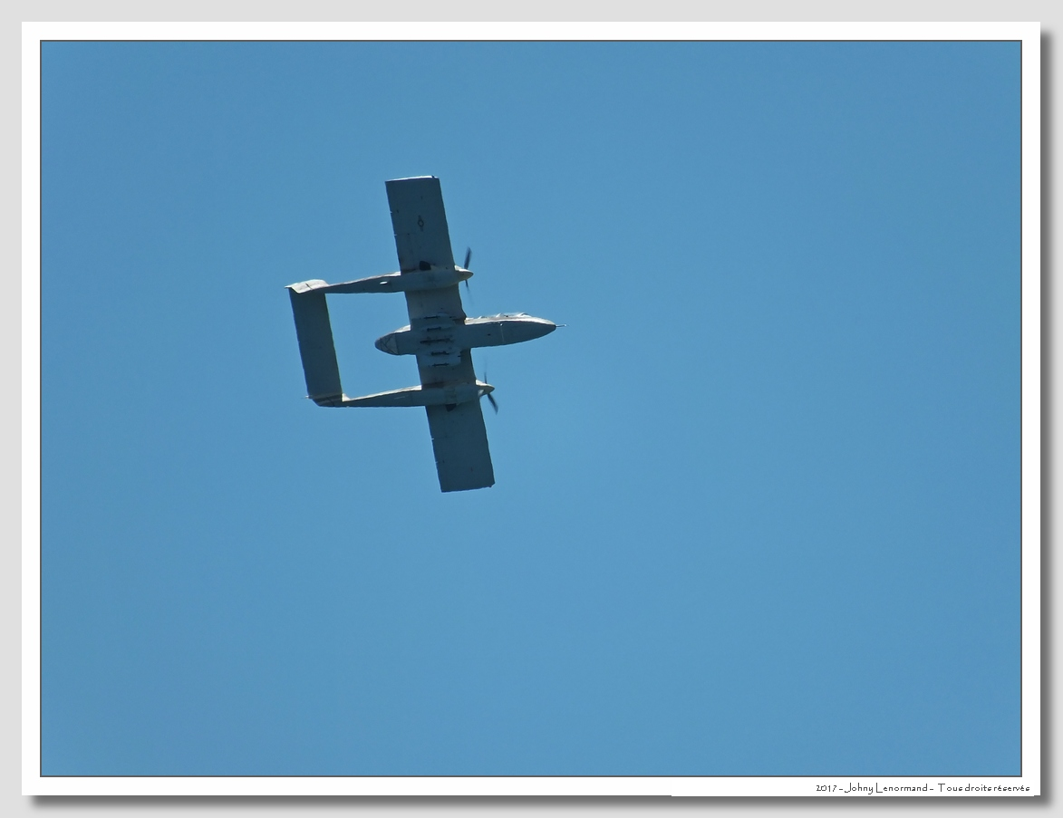 Vendée Air Show: OV-10 Bronco