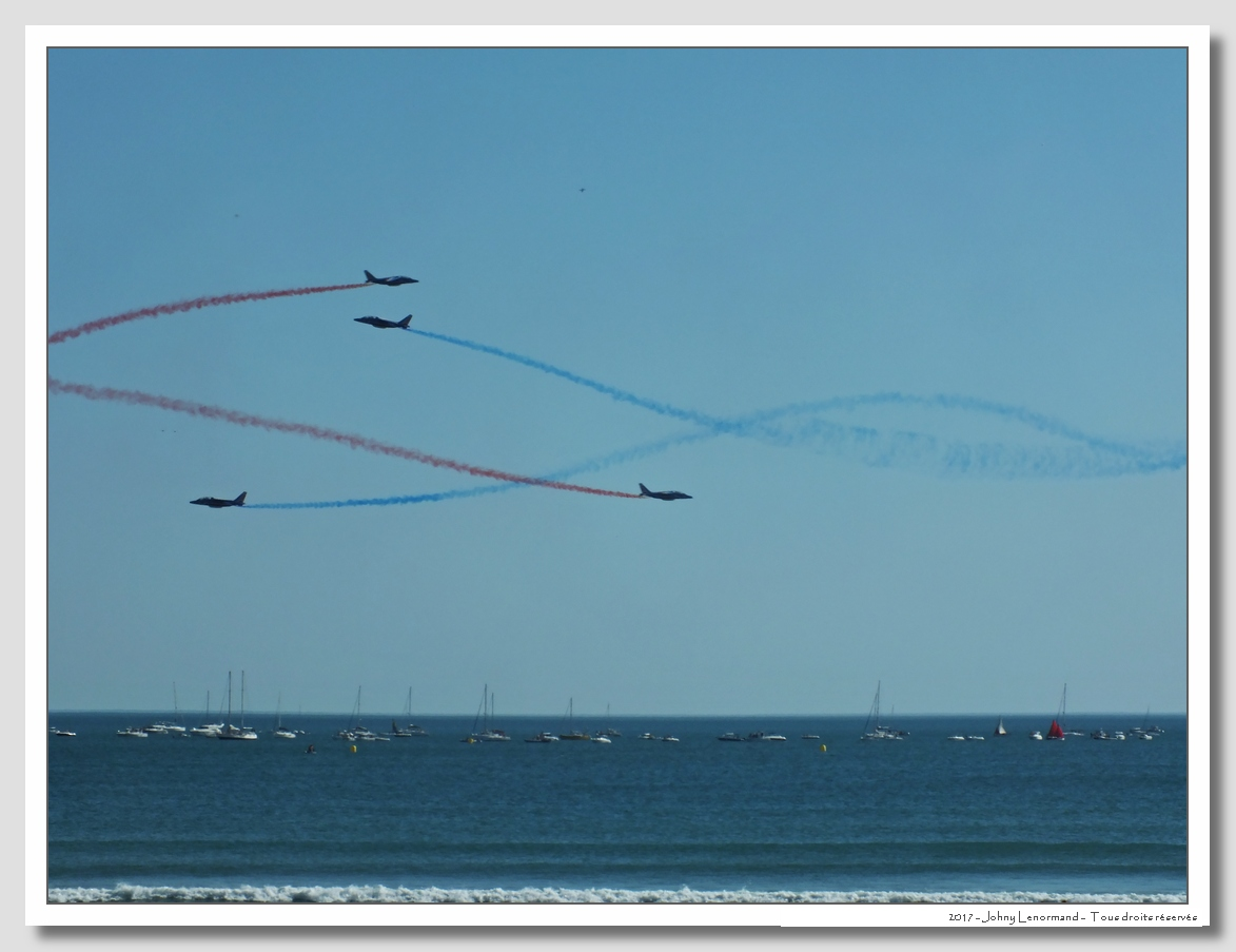 Vendée Air Show: Patrouille de France