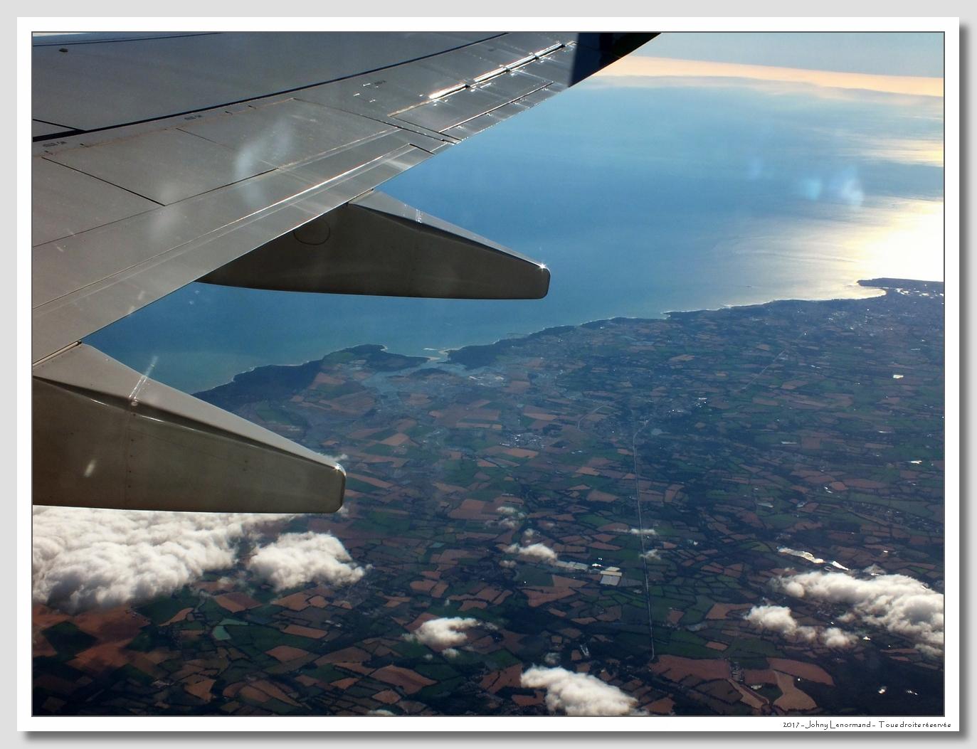 Le Talmondais vu d'un Boeing 737