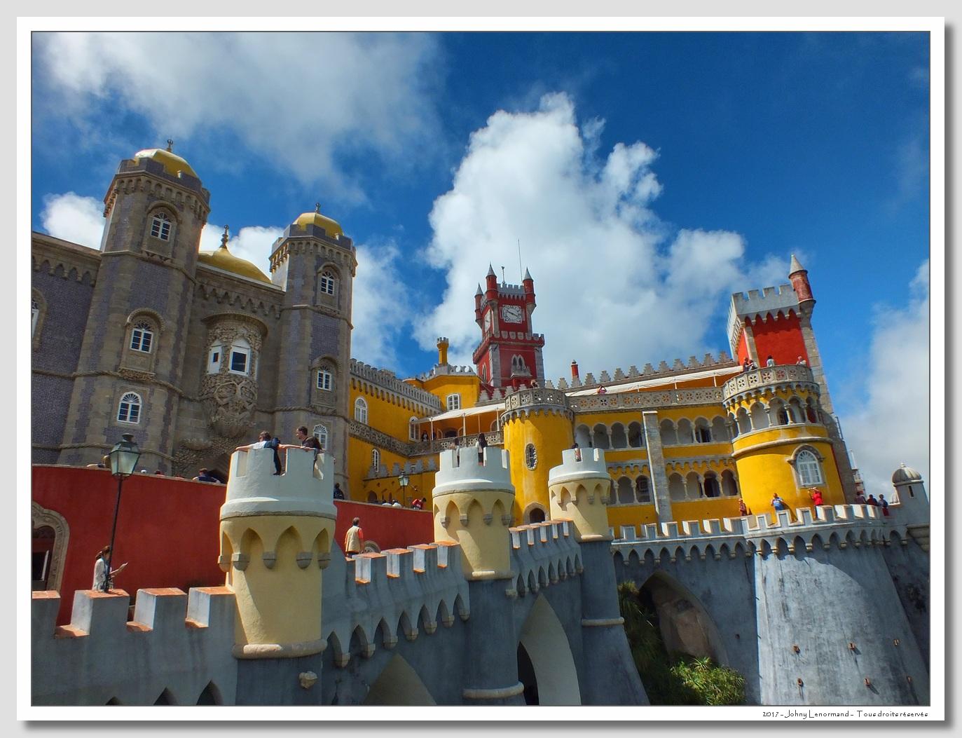 Voyage au Portugal: Sintra, Palacio Da Pena
