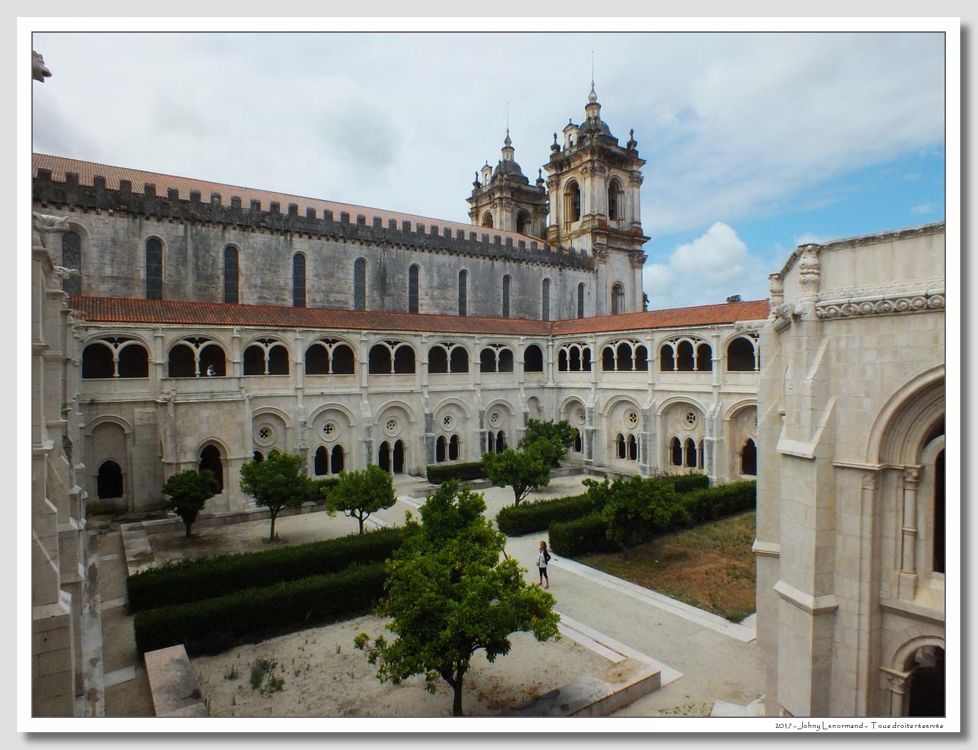 Voyage au Portugal: Alcobaça: monastère Santa Maria