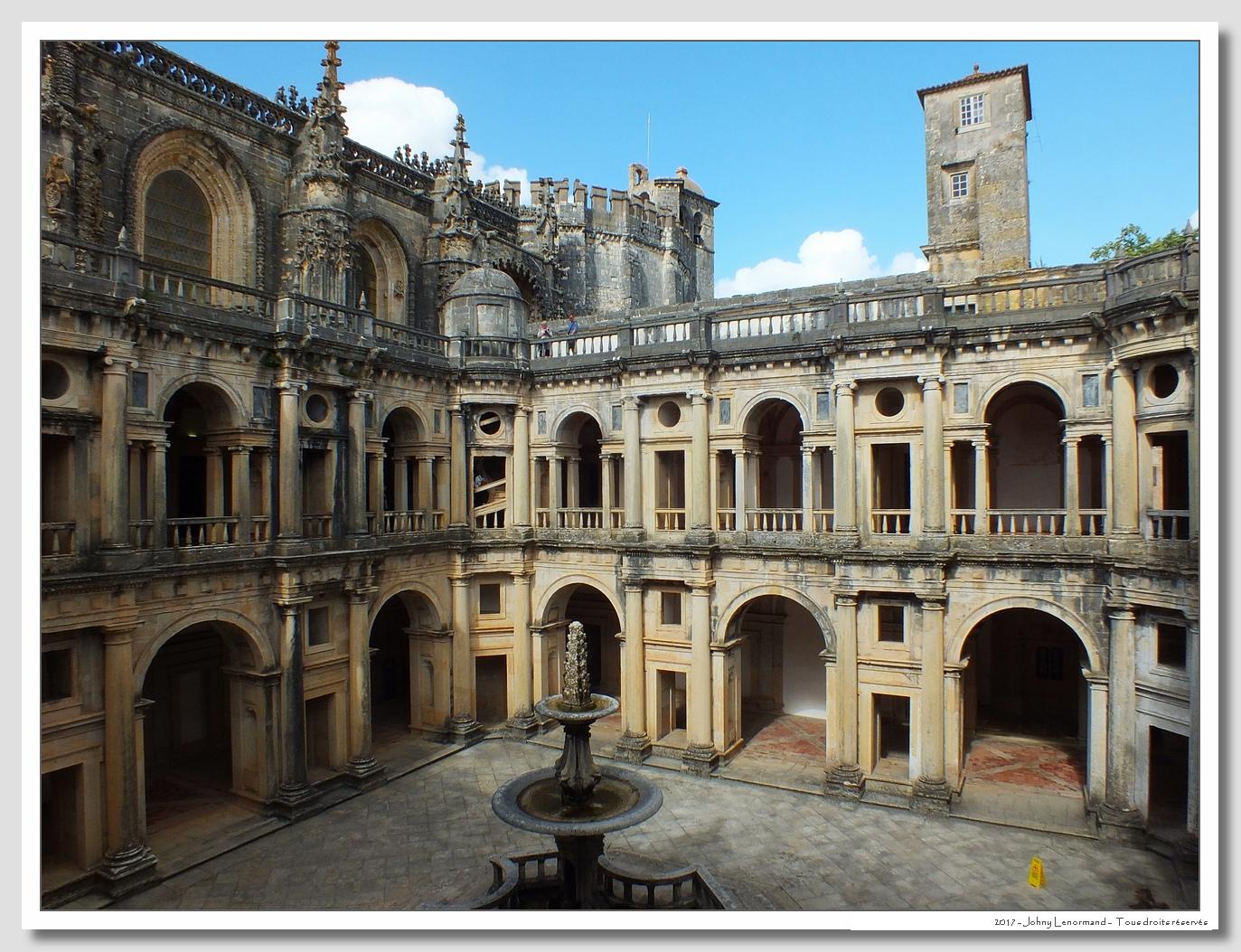 Voyage au Portugal: Tomar: Convento Do Cristo
