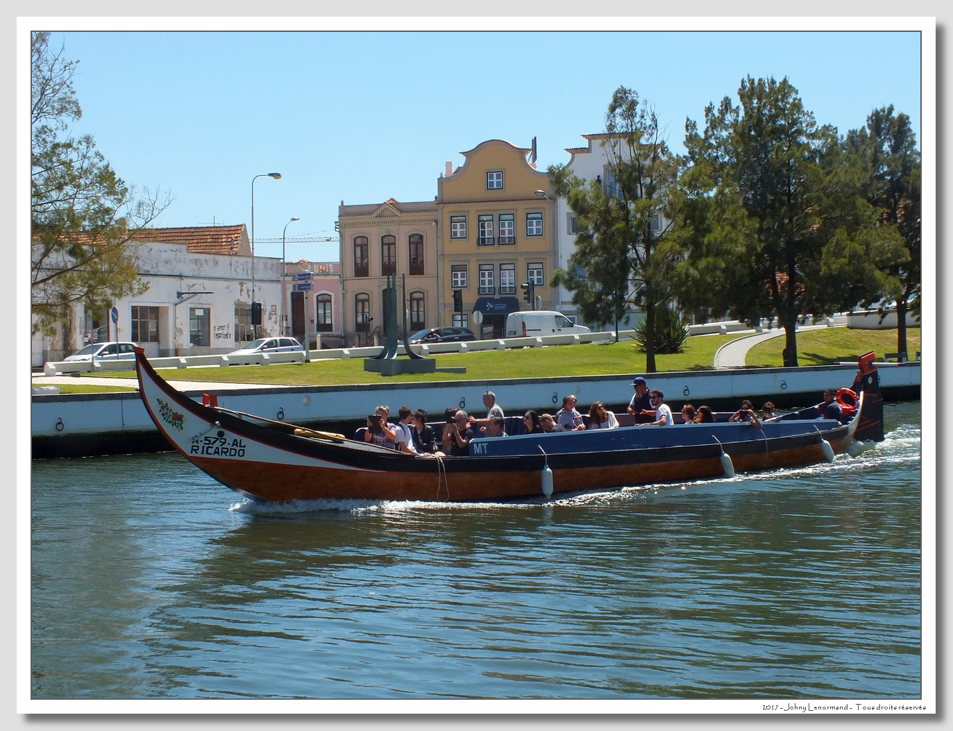 Voyage au Portugal: Aveiro
