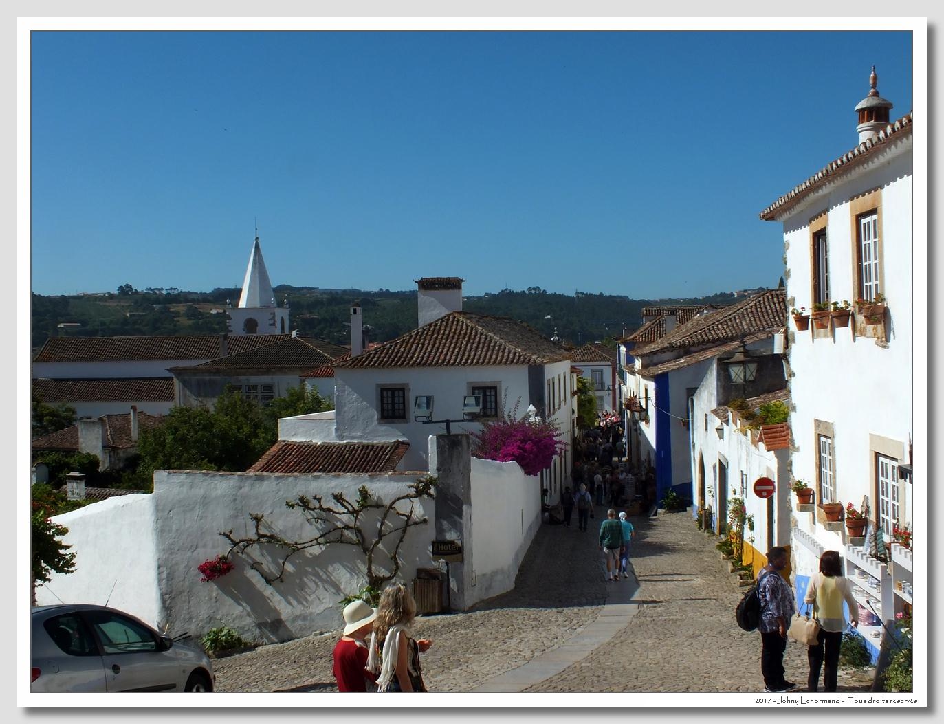 Voyage au Portugal: Obidos