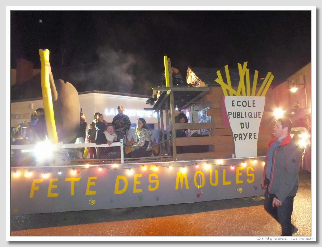Mi-Carême 2018 Talmont Saint Hilaire (Vendée)