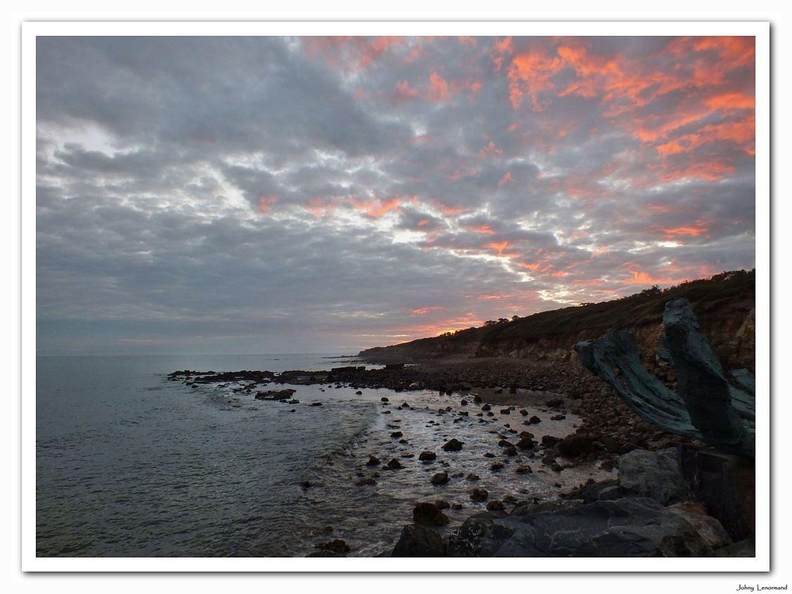 Coucher de soleil à Port Bourgenay