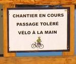 Piste cyclable et piétonne Bourgenay - La Guittière