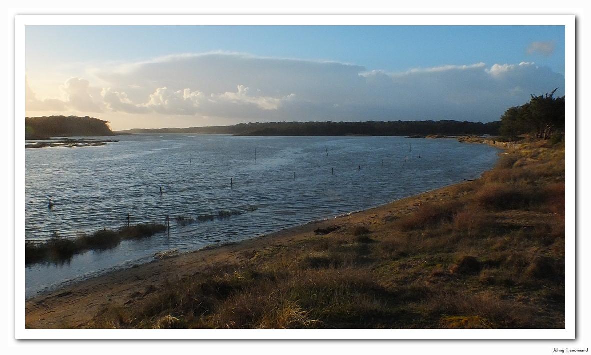 Grande marée à la Guittière
