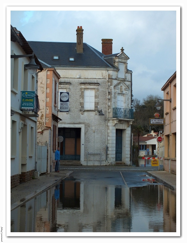 inondation rue de la mairie