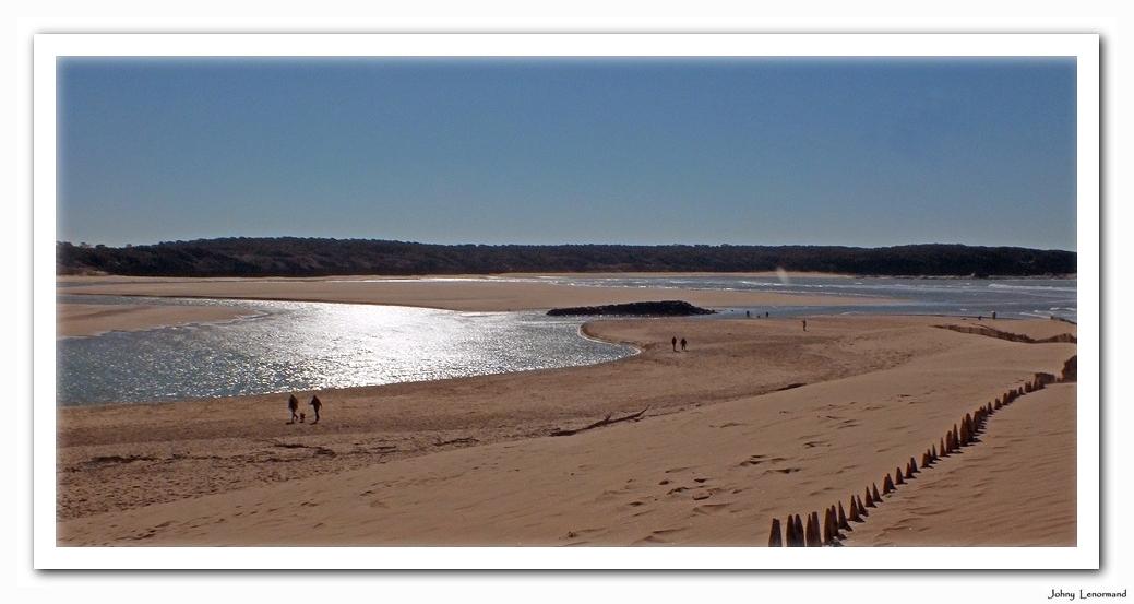 La dune du Veillon le 9 mars 2014