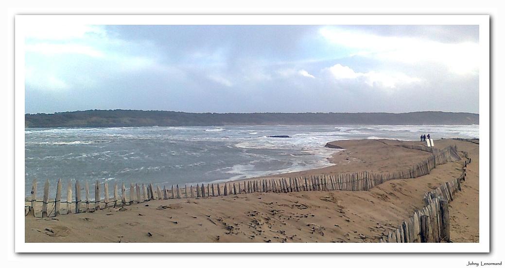 La dune du Veillon le 3 mars 2014