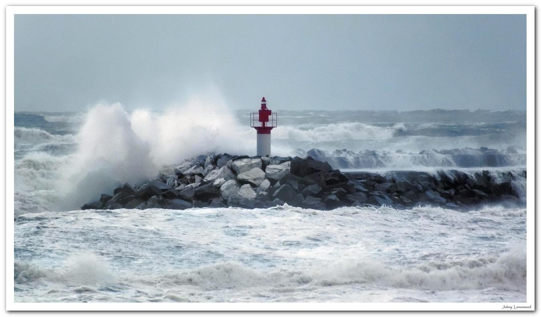 Coup de vent à Port Bourgenay
