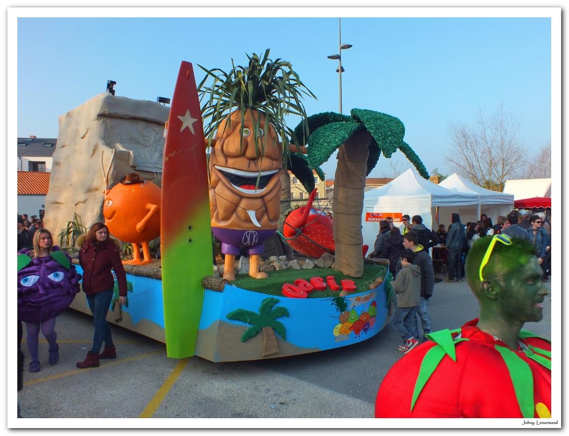 Mi-Carême 2016 à Talmont Saint Hilaire (Vendée)