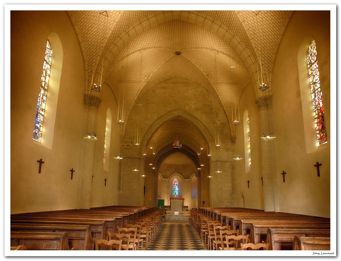 Eglise de Saint Sauveur, ile d'Yeu (Vendée)