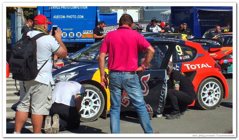 Sébastien Loeb à Lohéac