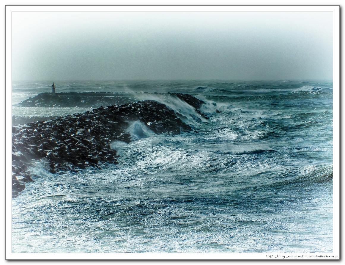 Tempête Zeus le 6 mars 2017 à Talmont Saint Hilaire