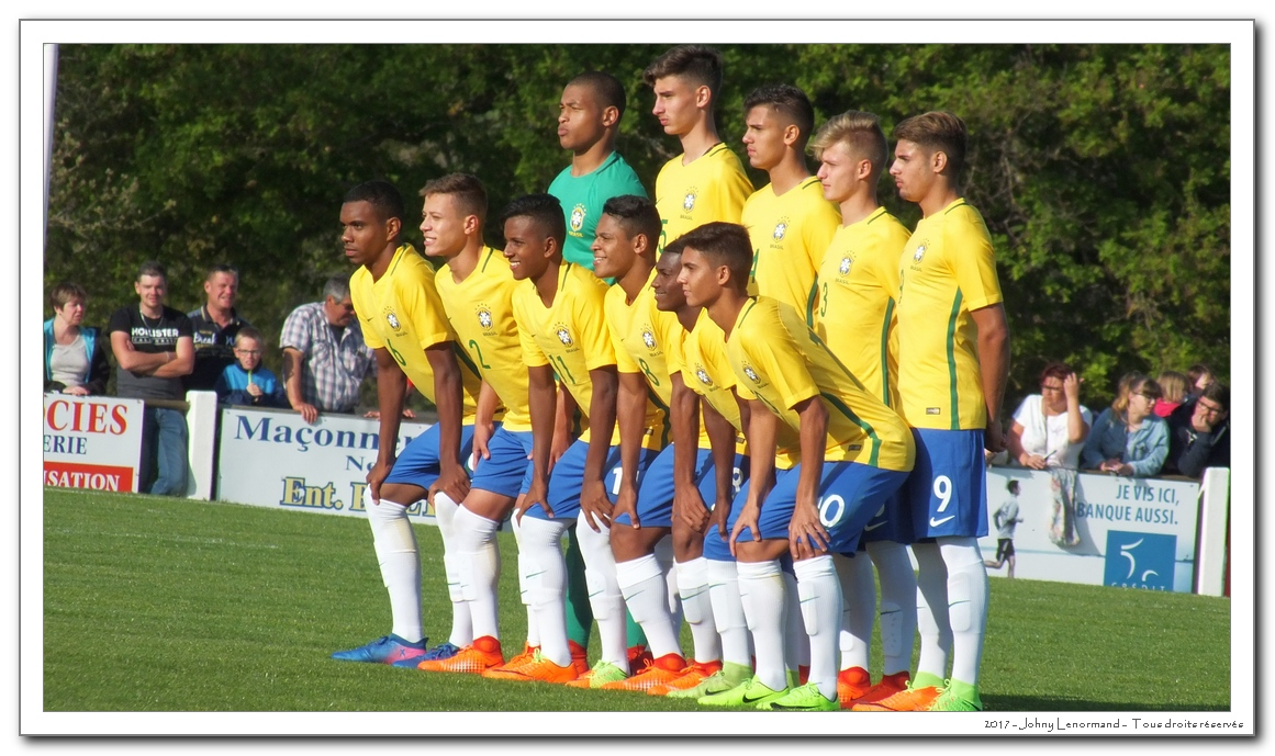 Mondial de Montaigu: Brésil-Danemark