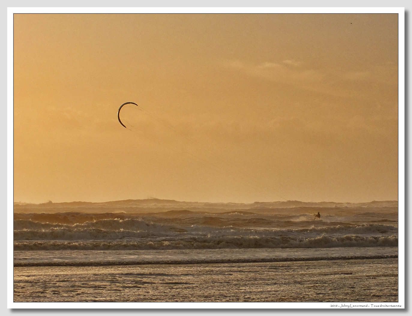 Kitesurf au Veillon