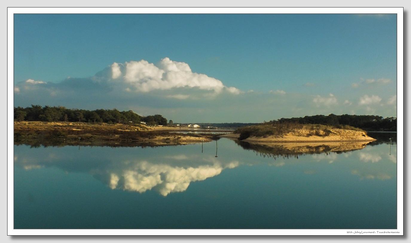 En bordure du Payré à Talmont Saint Hilaire, Vendée