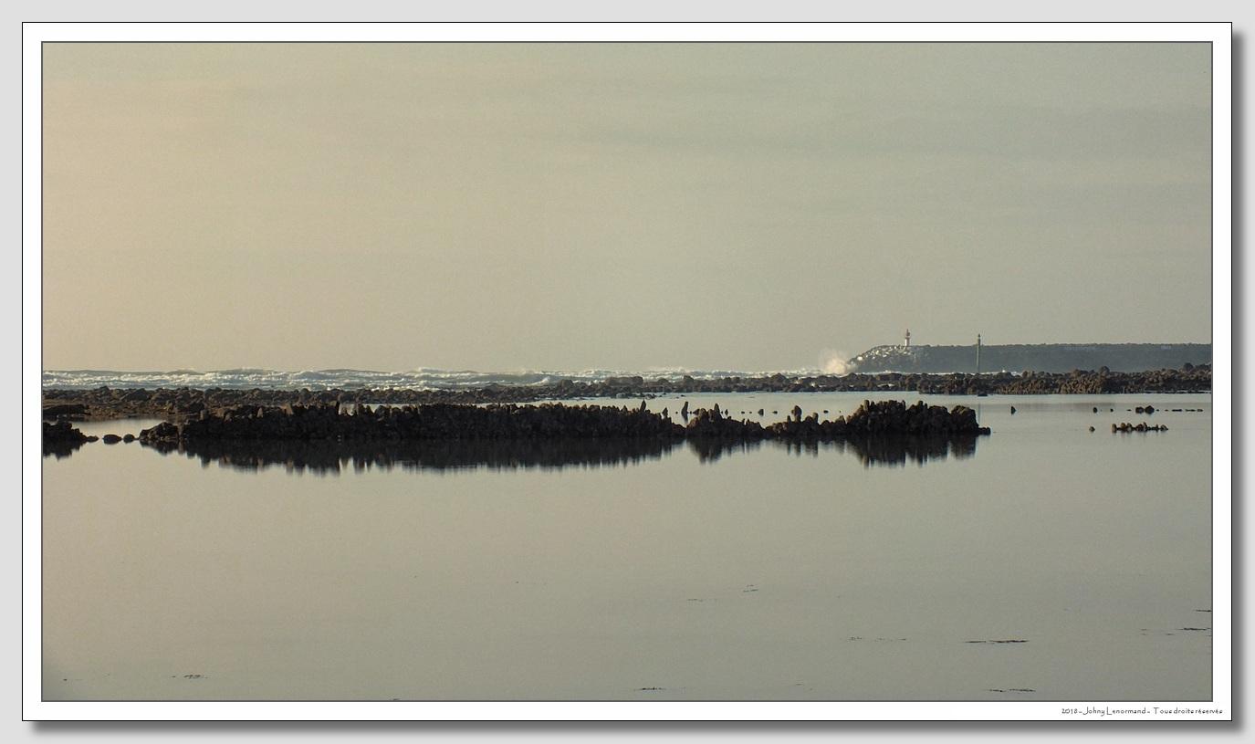 La jetée de Port Bourgenay vue de la République