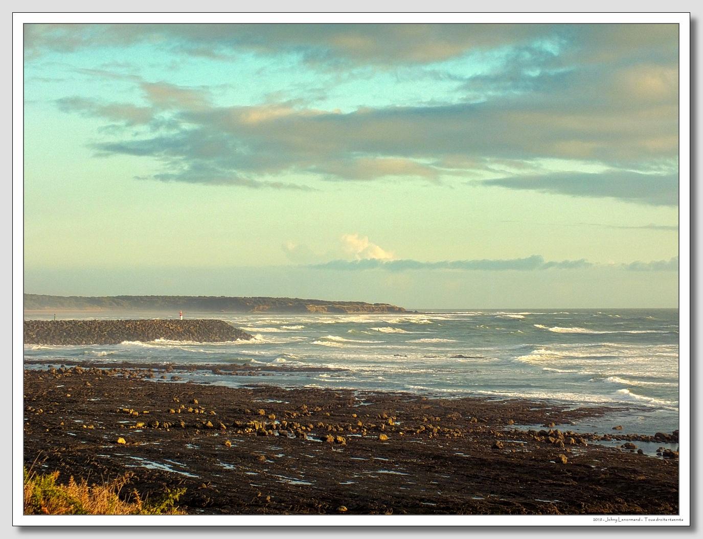 La côte vers Port Bourgenay