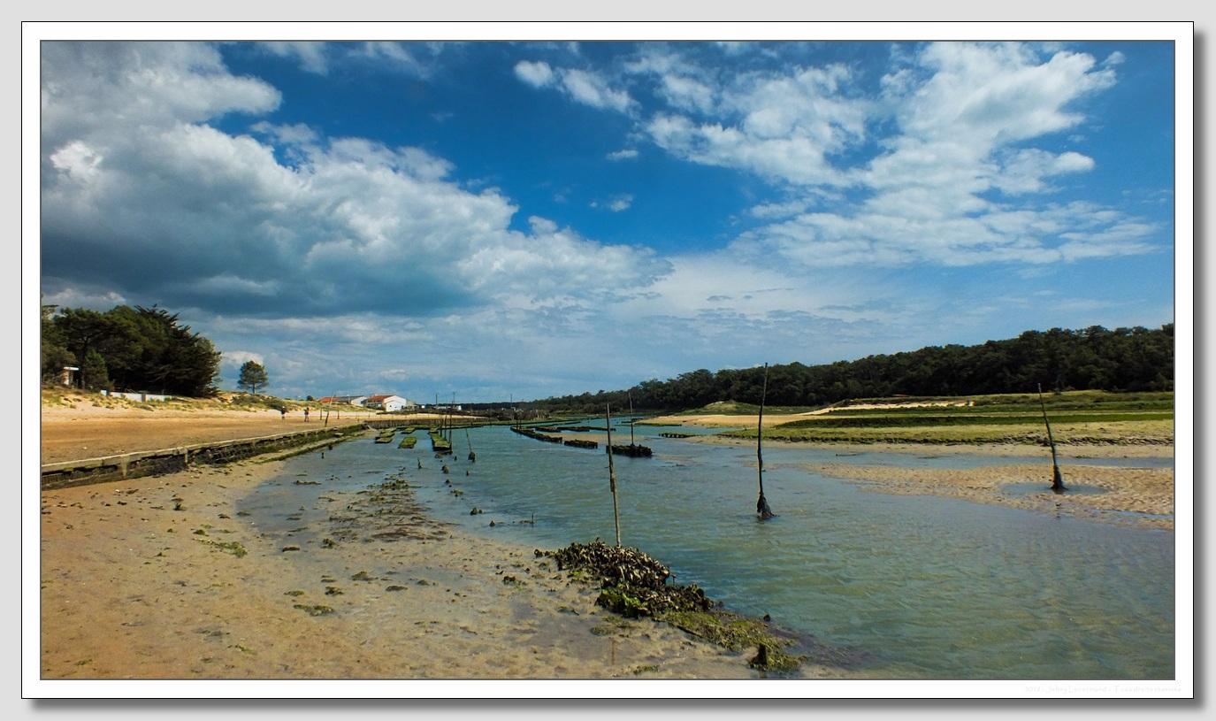 Port de la Guittière à Talmont Saint Hilaire (Vendée)