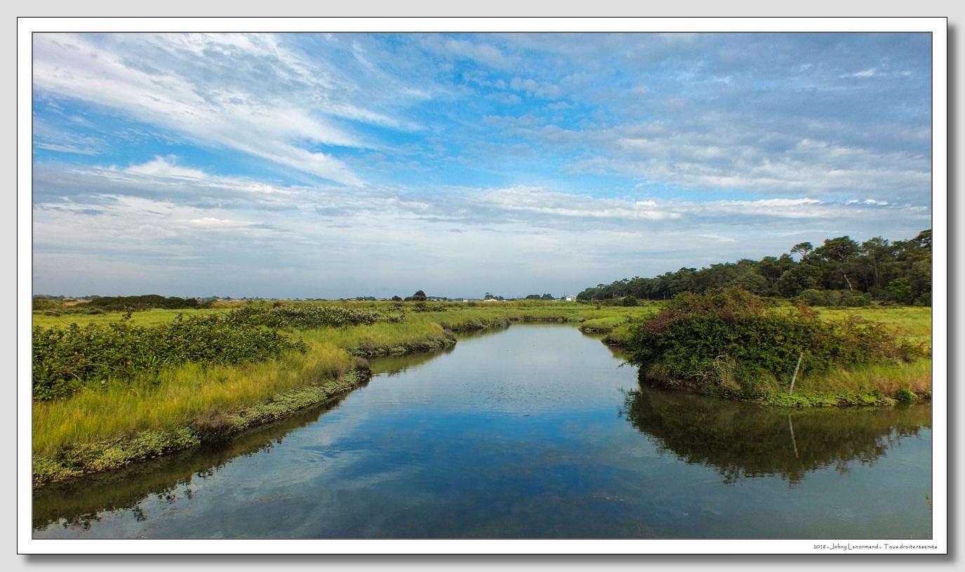 Marais à poissons à Talmont (Vendée)