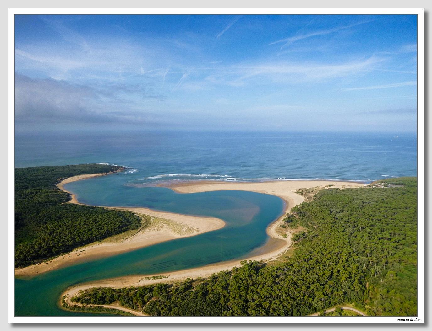 Estuaire du Payré à Talmont Saint Hilaire (Vendée)