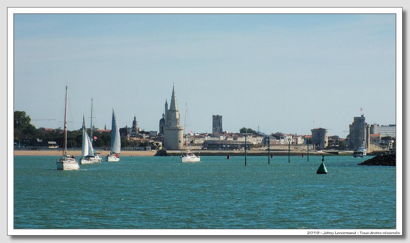 Chenal du port de la Rochelle