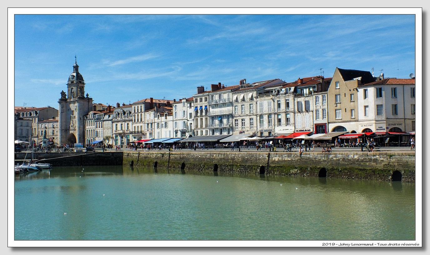 Quai du vieux port de la Rochelle