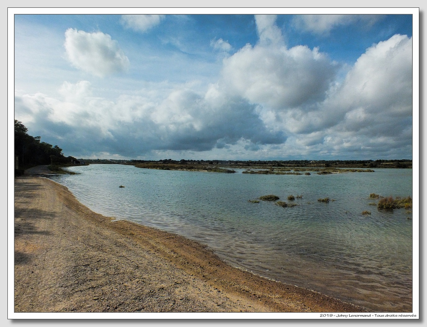 Grande marée dans le Payré à Talmont Saint Hilaire (Vendée)