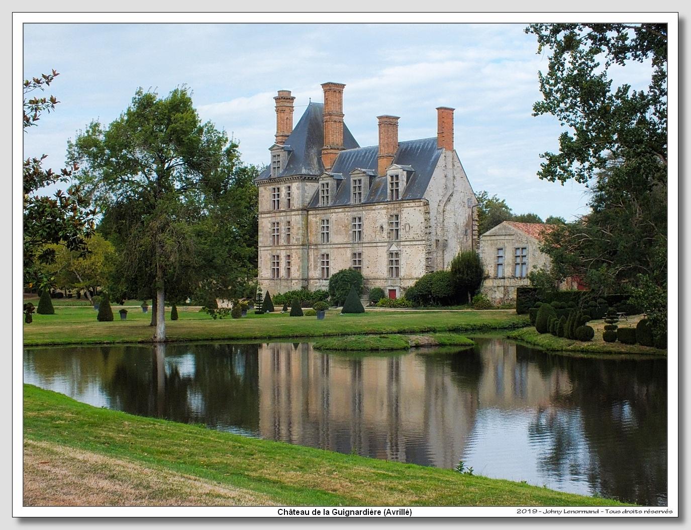 Château de la Guignardière à Avrillé (Vendée)