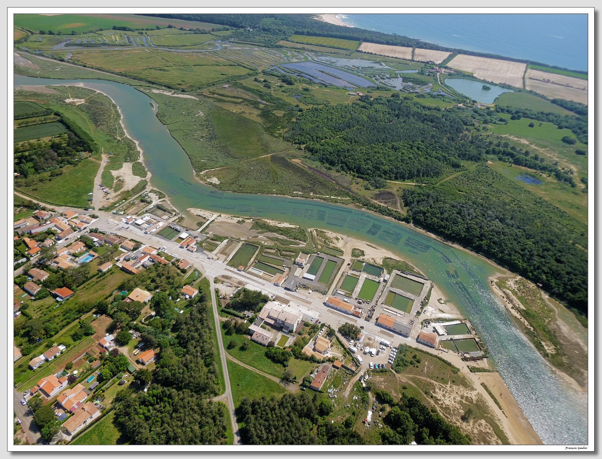 Le Port de la Guittière à Talmont St Hilaire (Vendée)