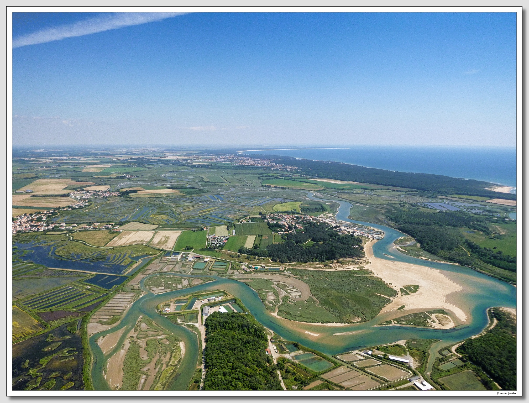 Le grand site naturel du Veillon à Talmont St Hilaire (Vendée)