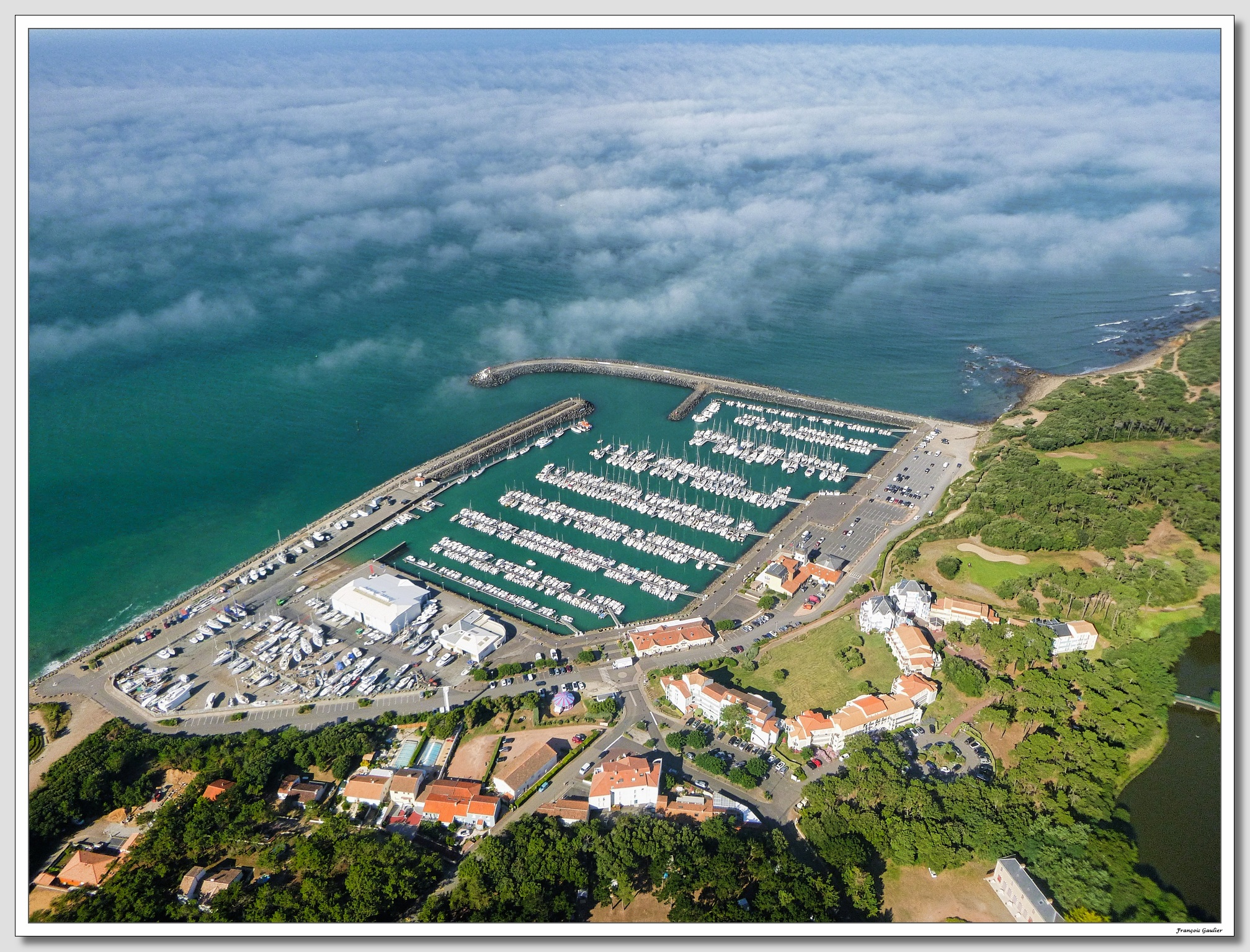 Port Bourgenay à Talmont Saint Hilaire (Vendée)