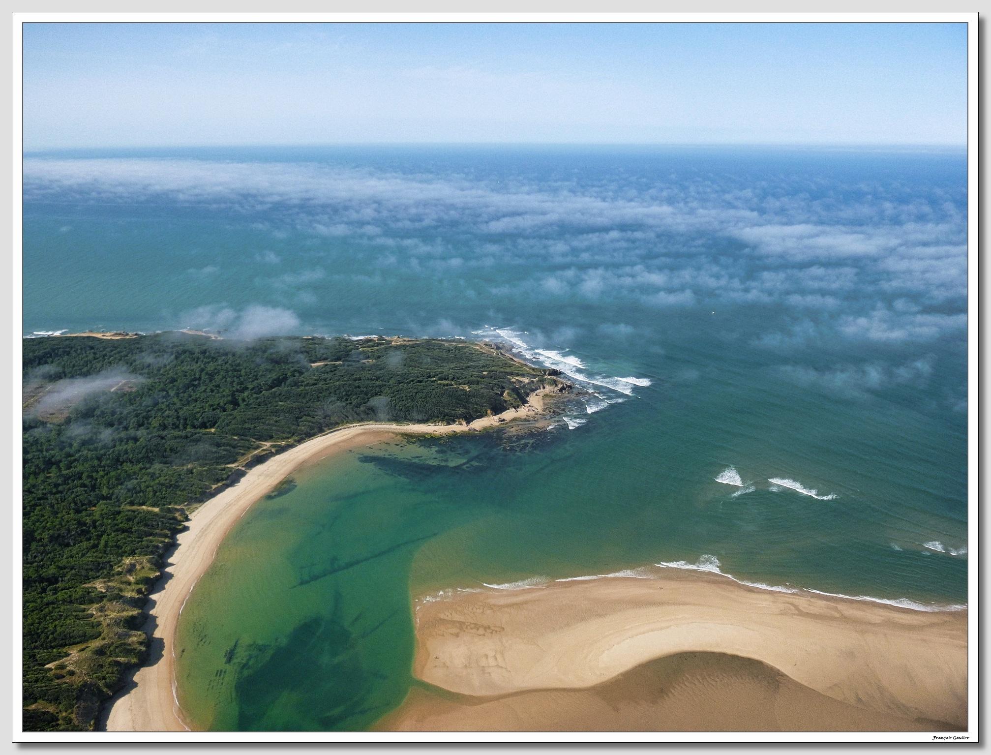 La pointe du Payré à Jard sur Mer (Vendée)