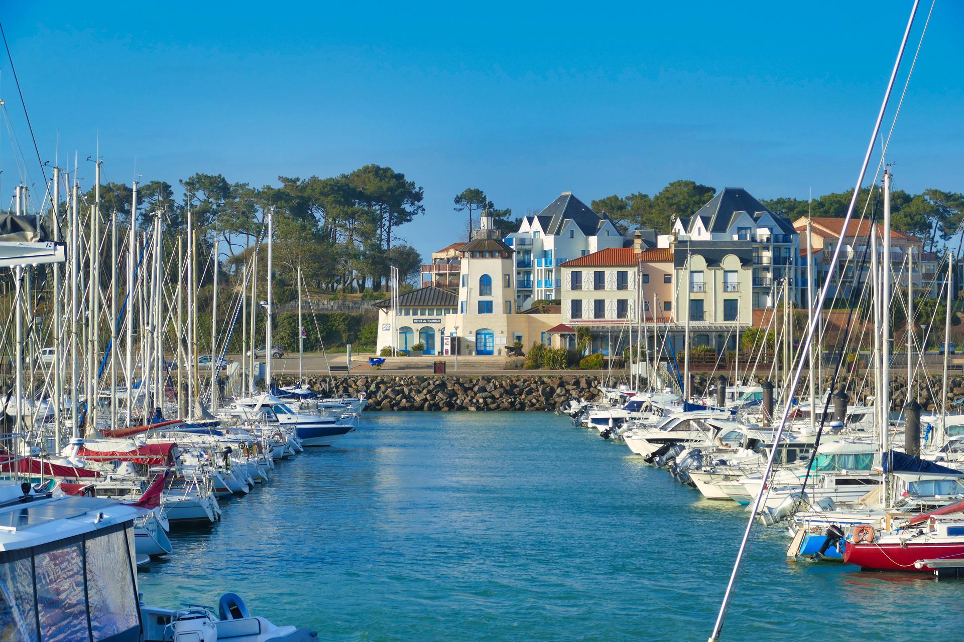 Port Bourgenay à Talmont St Hilaire (Vendée)