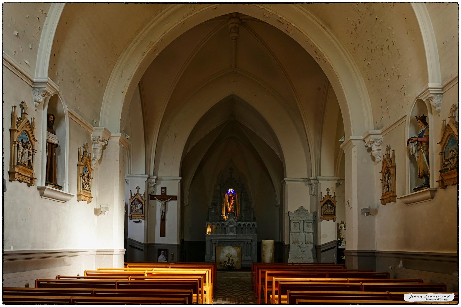 La chapelle de Bourgenay à Talmont-Saint-Hilaire (Vendée)